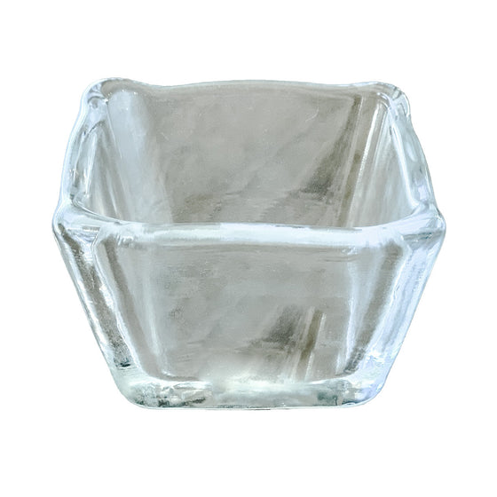 Simon Pearce Glass Bowl for Cutting Board Cutout - Andrew Pearce Bowls