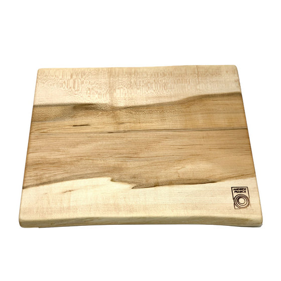 SECONDS: Double Live Edge Cutting Board: Vermont Maple