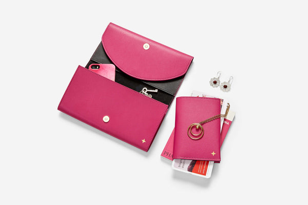 Travel Jewellery Wallet & Passport Set