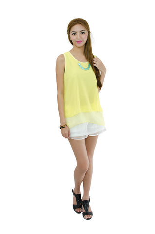 Tricia Blouse Yellow