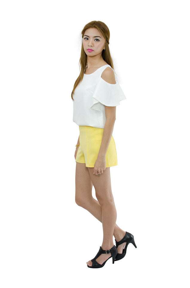 Cathy Shorts Yellow 3