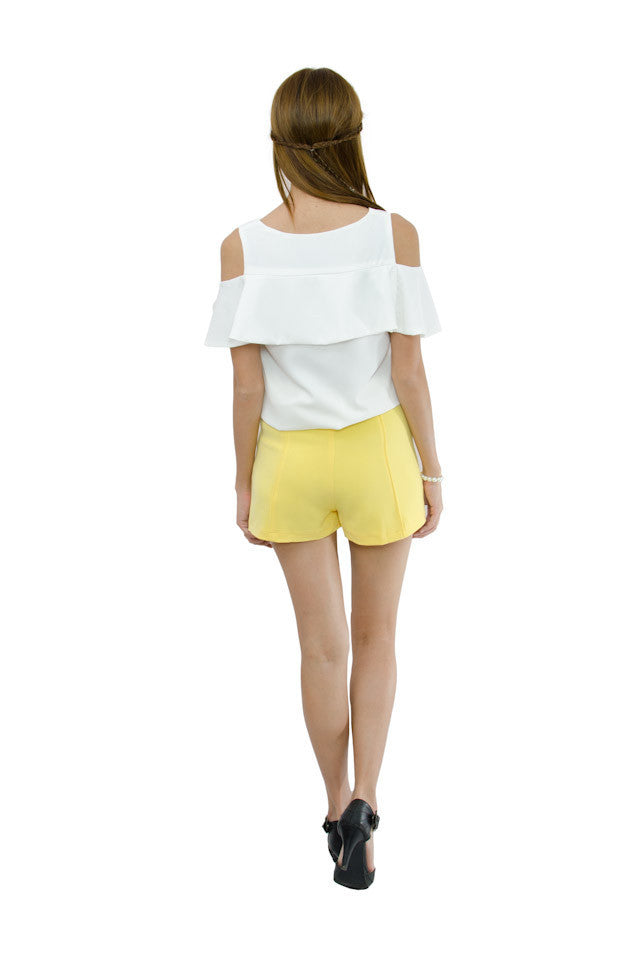 Cathy Shorts Yellow 5