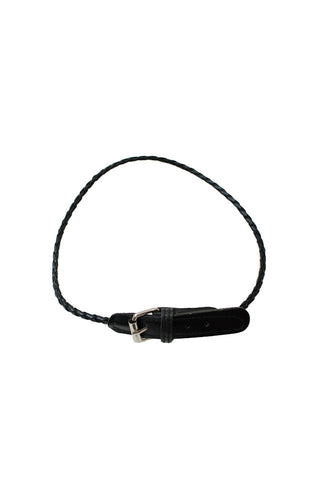 Abby Leather Bracelet Black