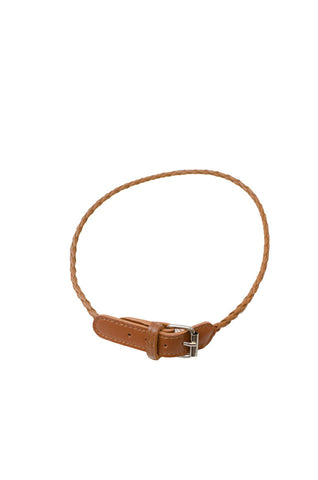 Abby Leather Bracelet Camel