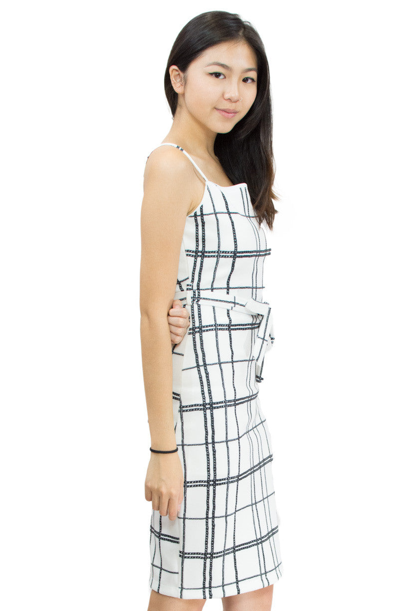 Evra Midi Dress, Le Summer, side view