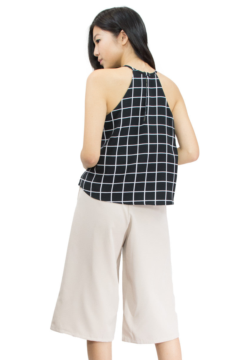 Fannie Layered Camisole, back view, le summer