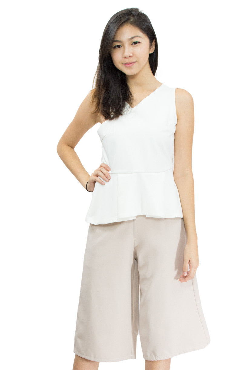 Neyra Basic Top, le summer, basic top, front view