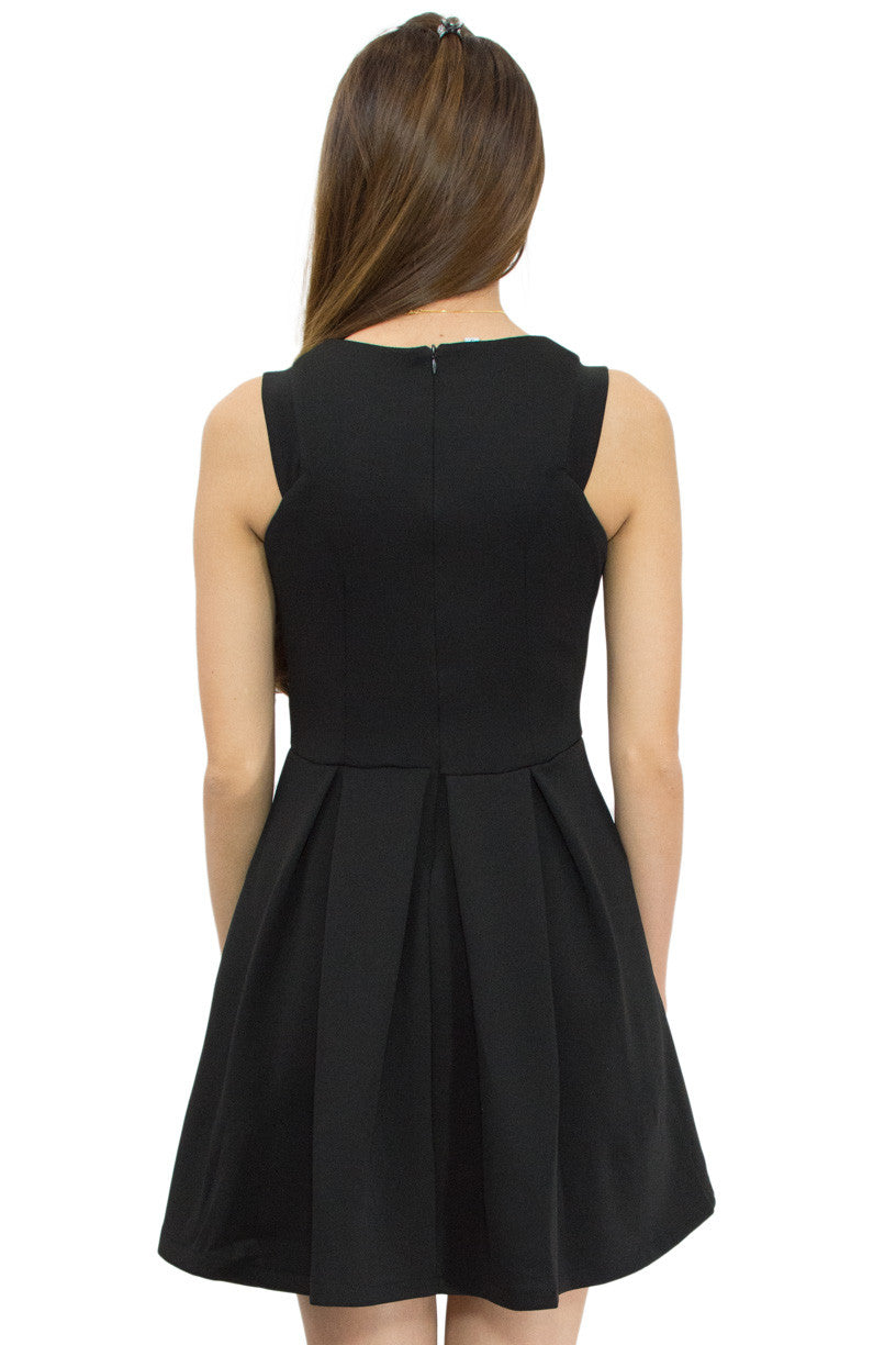 Dean Flare Dress, Le Summer, back view