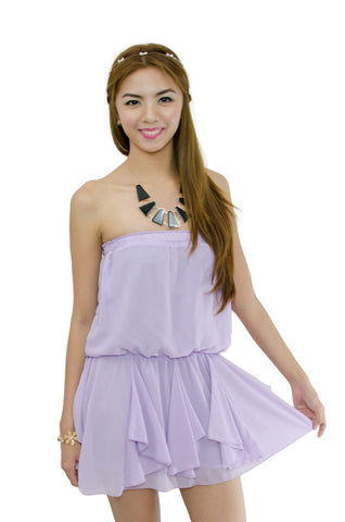 Hilda Tube Dress Purple