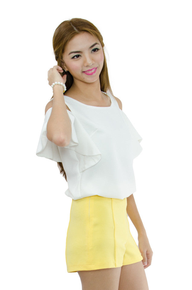 Cathy Shorts Yellow