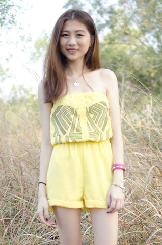 Zeta Romper Yellow