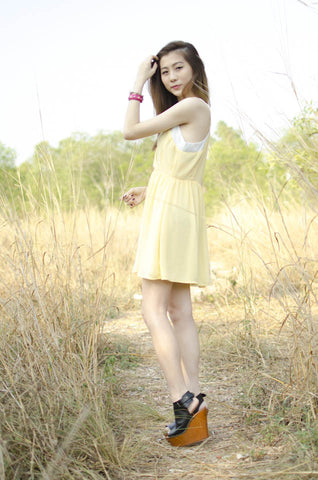 Chantelle Dress Yellow