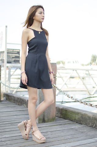 Delilah Dress Black
