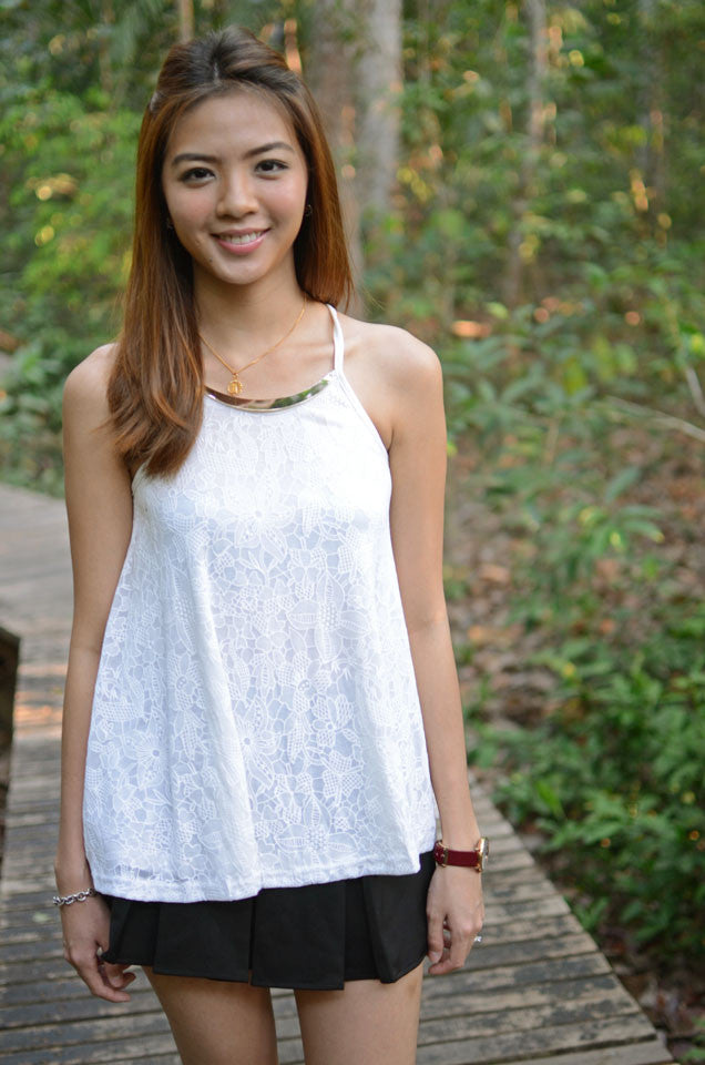 Irisa Top White