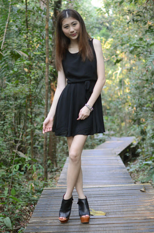 Koumi Black Dress