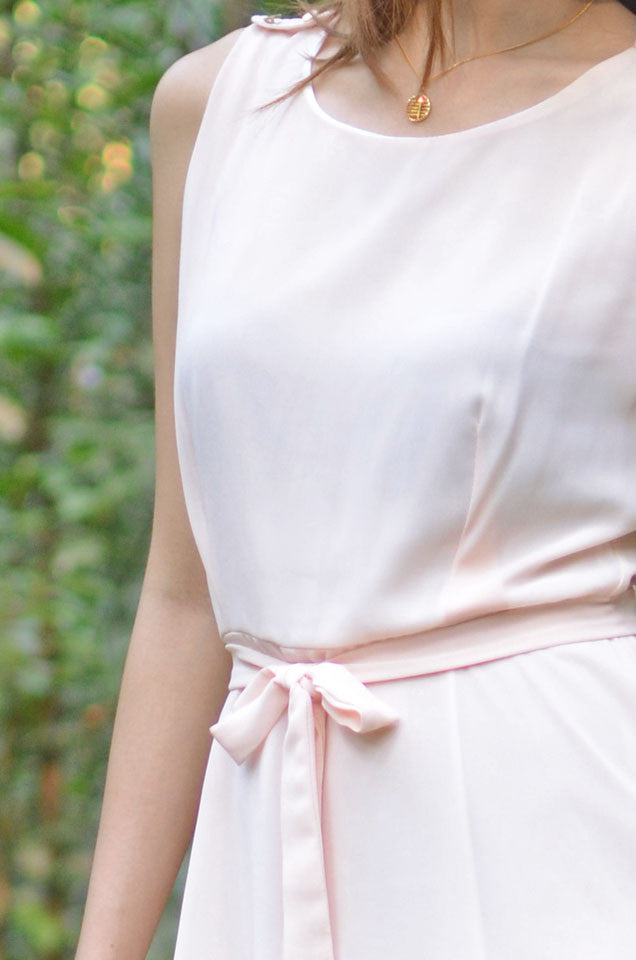 Koumi Cream Dress