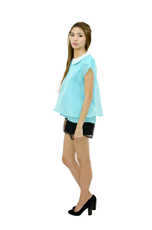 Alice Blue Top