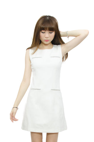 Dalila Slim Fit White
