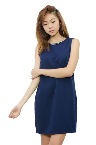 Rachelle Dress Royal Blue