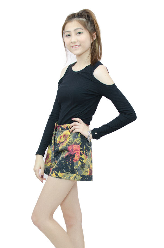 Zayla Top Black