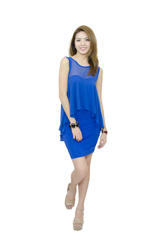 Paige Dress Blue