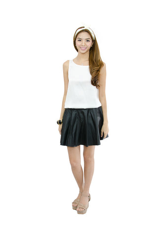 Mia Skirt Matte Black