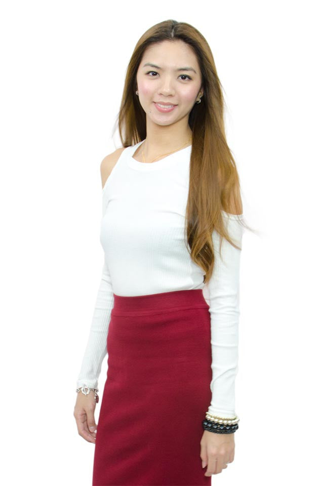 Zayla Top White
