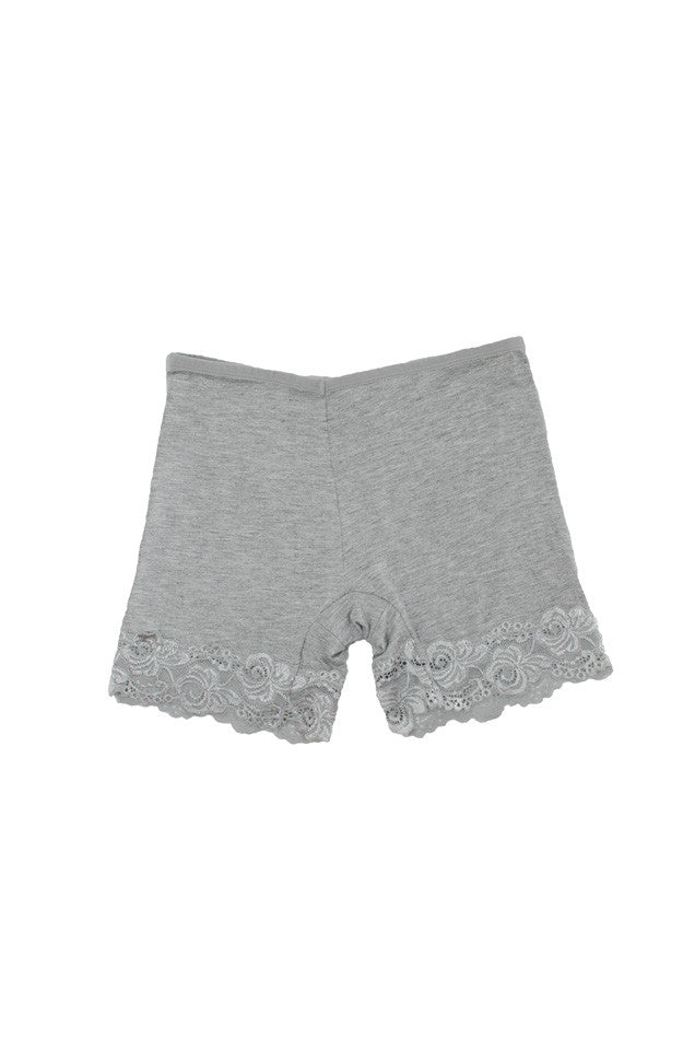 Staci Safety Shorts Grey