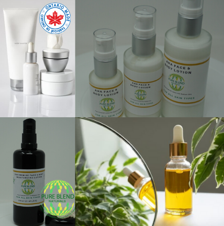 Ready Made Skin Care Products - Ontario Made