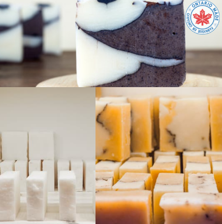 All Natural pH Balanced Soap Bars - Made In Ontario