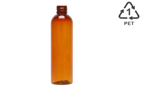 amber colored plastic bottles canada