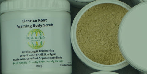 body scrub for lightening skin