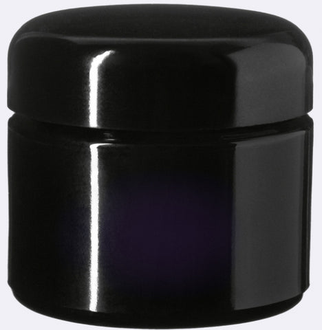 miron violet glass cosmetic jars lid canada