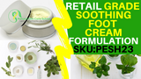 soothing peppermint foot cream formula