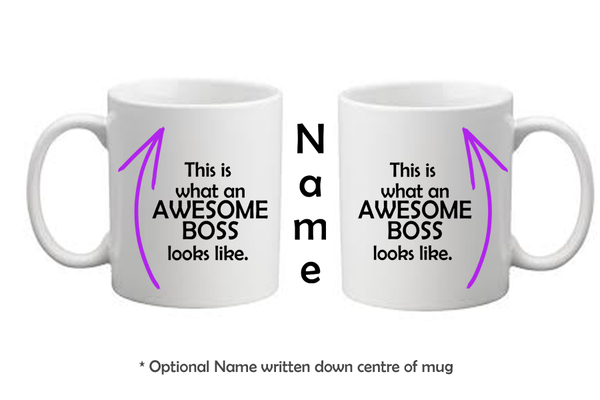 Awesome Boss Mug
