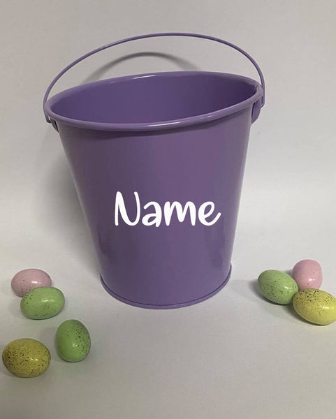 Personalised Easter Buckets - Name only
