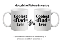 Coolest Dad Ever Dirtbike Mug