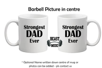 Strongest Dad Ever Mug