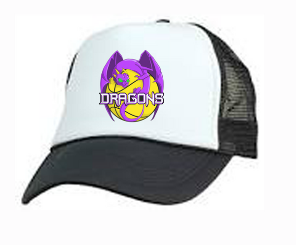Melton Dragons Basketball Club Trucker Mesh Cap