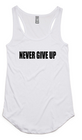 Never Give Up Singlet