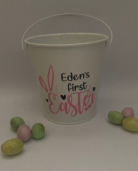 My first Easter Bucket - Can include Name