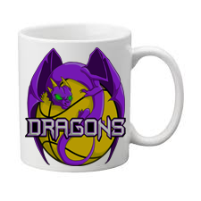 Melton Dragons Basketball Club Coffee Mug