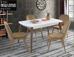 R-1250 Lotus Tafel Set