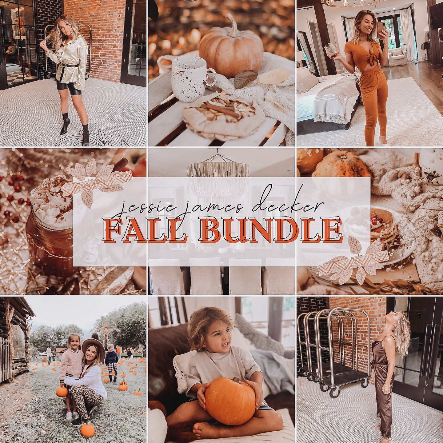 Jessie James Decker Presets - Fall Bundle