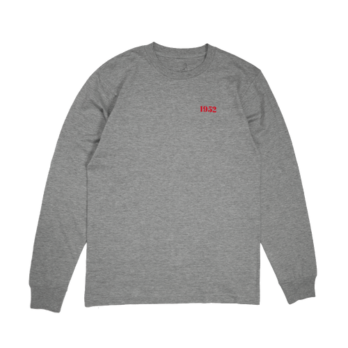 1952 LONG SLEEVE - GREY