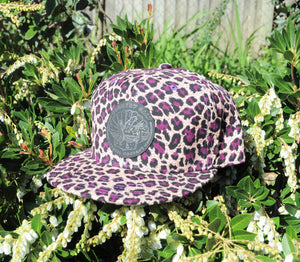 "The ""Purple Rain"" Cheetah Hat"