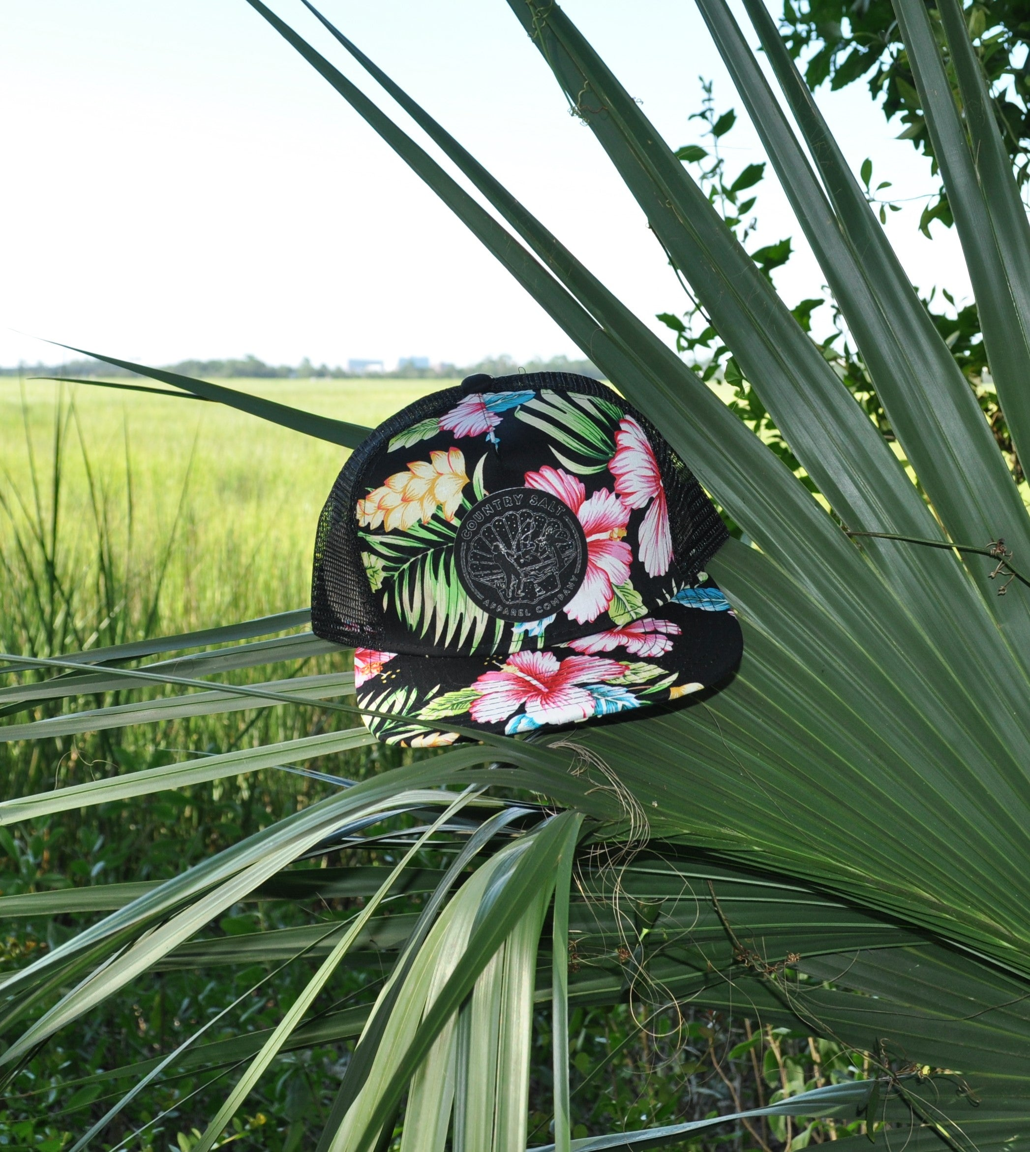 "The ""Darkside Hawaiian"" Mesh Hat"