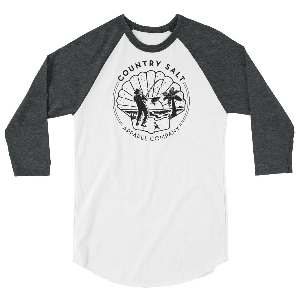 Country Salt Apparel Unisex Baseball Tee