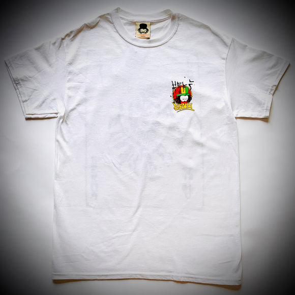 DREADY: JOKER TEE (WHITE)