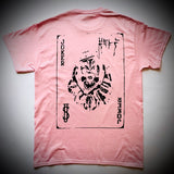 DREADY: JOKER TEE (PINK)